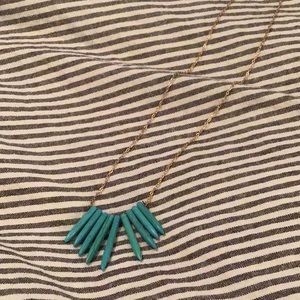 Lovely turquoise necklace by baublebar